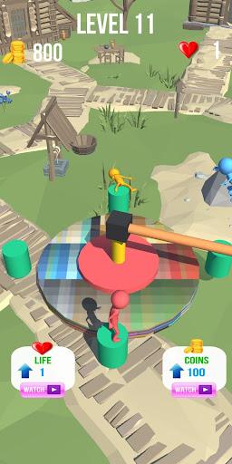 super jumper 3d wipeout game screenshot 1