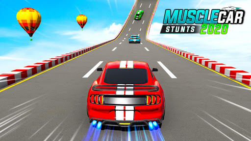 Muscle Car Stunts 2020: Mega Ramp Stunt Car Games 1.2.2 screenshots 1