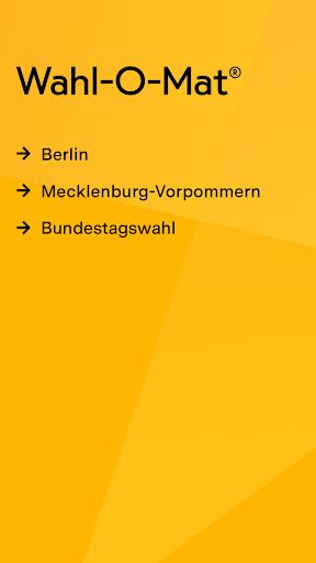 Wahl-O-Mat  screenshots 2