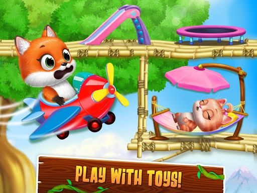 Panda Lu Treehouse - Build & Play with Tiny Pets  Screenshots 15