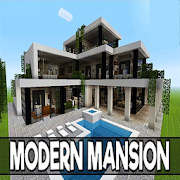 App Icon for Modern Mansions for MCPE App in Czech Republic Google Play Store