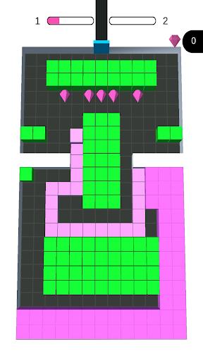 Color Blocks Fill  - block puzzle - coloring games  screenshots 2