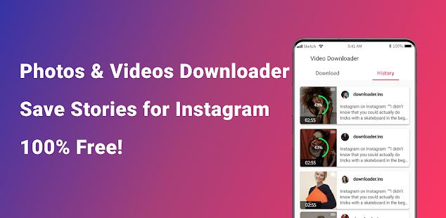 Video Downloader for Instagram, Reels, Story Saver 1.2.6 screenshots 1