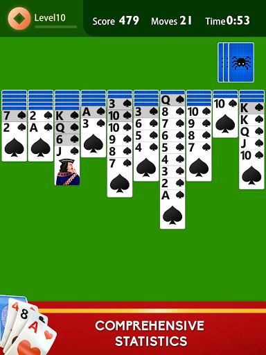 Spider Solitaire Plus  screenshots 15