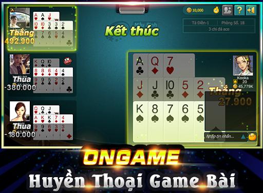 Ongame Mu1eadu Binh (game bu00e0i) 4.0.3.7 screenshots 2