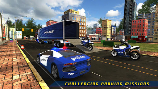 Police Plane Transporter Game  screenshots 17