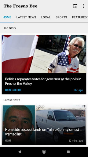 Fresno Bee newspaper 7.7.0 screenshots 2