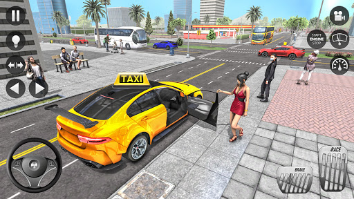 City Taxi Driver 2021 2: Pro Taxi Games 2021 0.1 screenshots 3