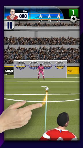 real free kicks 3d soccer game - penalty shootout screenshot 3