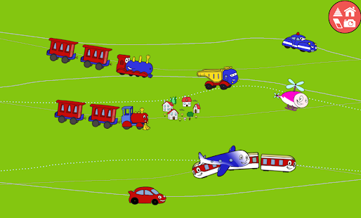 Trains, cars & games for kids
