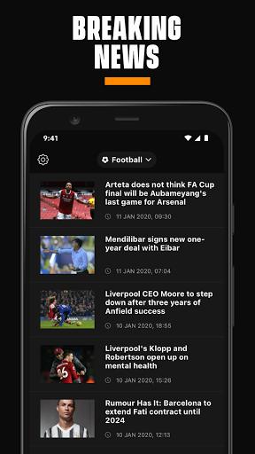 LiveScore: Live Sports Scores 4.3 Screenshots 5