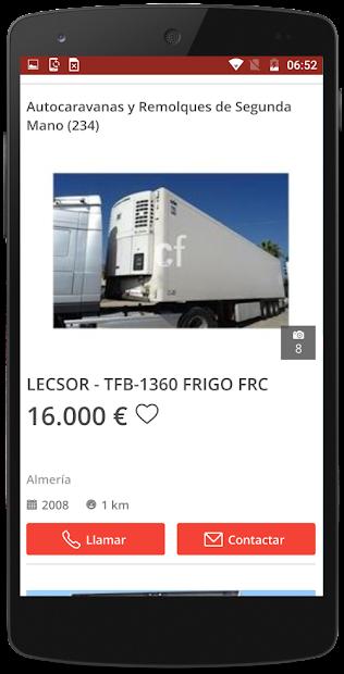 Screenshot 2 de Caravanas segunda mano España para android