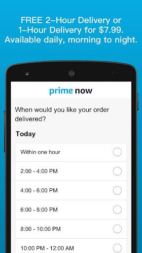 Amazon Prime Now modavailable screenshots 3