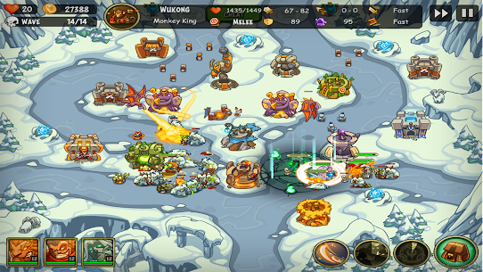 Empire Warriors Premium Tower Defense Games Mod Apk (Unlimited All/vip) 5
