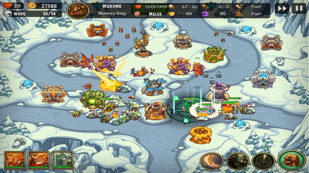 Empire Warriors Premium: Tower Defense Games poster 4