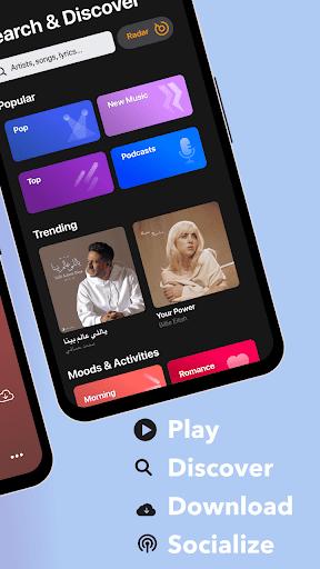 Anghami - Play, discover & download new music apktram screenshots 3