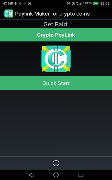 PayLink Maker for crypto currency coins screenshot 8