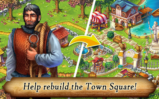 Runefall - Medieval Match 3 Adventure Quest screenshots 14