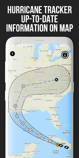 MeMeteo - global forecast & hurricane tracker screenshots 2