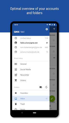 GMX - Mail & Cloud  Screenshots 2