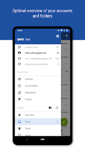 GMX - Mail & Cloud Screenshot