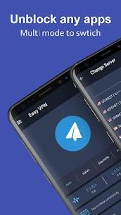 Easy VPN v2.1.1 MOD APK – Free VPN proxy, super VPN shield 1