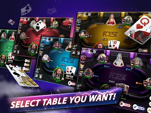 Rest Poker - Texas Holdem  screenshots 10