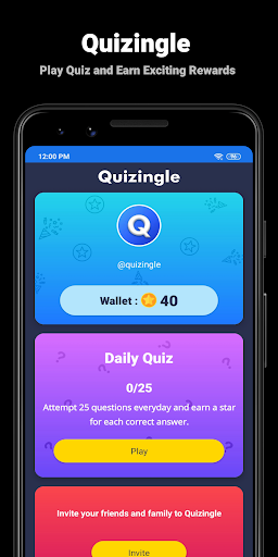 Quizingle - Play Quiz and Earn Exciting Rewards 1.1.853 screenshots 1