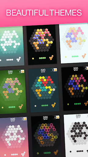 Hex FRVR - Drag the Block in the Hexagonal Puzzle screenshots 3