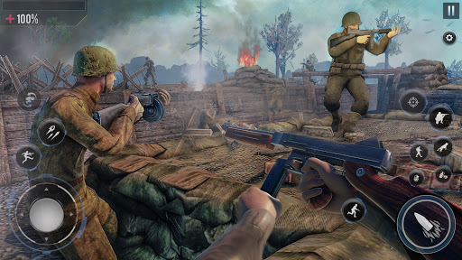 Call Of Courage : WW2 FPS Action Game modavailable screenshots 2