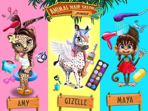 Jungle Animal Hair Salon 2 screenshot 12