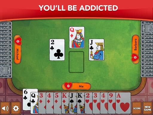 Hearts - Card Game Classic apktram screenshots 13