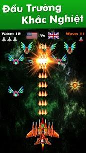 Hạm Đội: Đại Chiến Không Gian Ver. 32.7 MOD Menu APK | God Mode | Free Gold – Galaxy Attack: Alien Shooter MOD 2