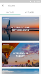 screenshot of minube: travel planner & guide