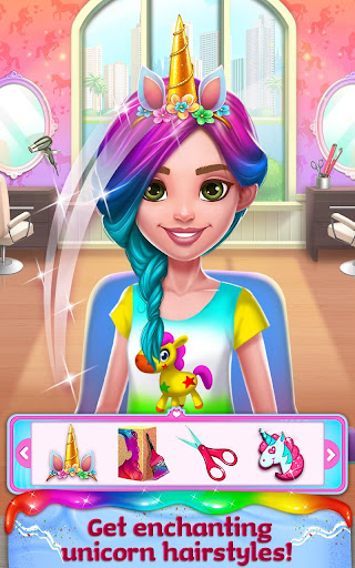 Unicorn Food - Rainbow Glitter Food & Fashion apkpoly screenshots 14