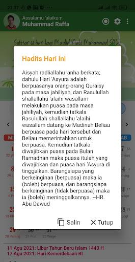 Kalender Hijriah -Puasa Sunnah android2mod screenshots 8