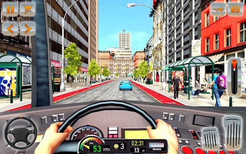 Modern Bus Driving Simulator: Bus Games 2021 7