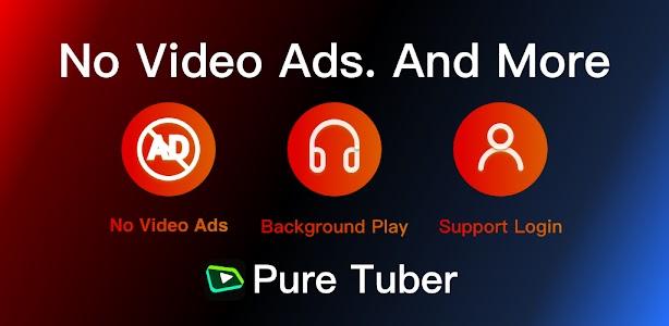 Pure Tuber - Block Ads for Video, Free Premium 2.15.17.101 (VIP)