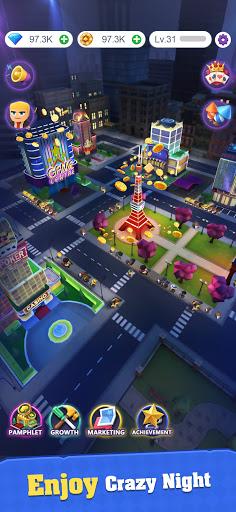 Crazy Night:Idle Casino Tycoon screenshots 14