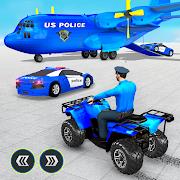 US Police ATV Quad Bike Plane Transport Game