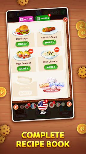 Wordelicious: Food & Travel - Word Puzzle Game apkdebit screenshots 4