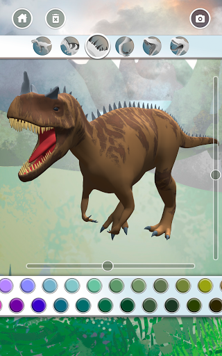 Dinosaurs 3D Coloring Book modavailable screenshots 13