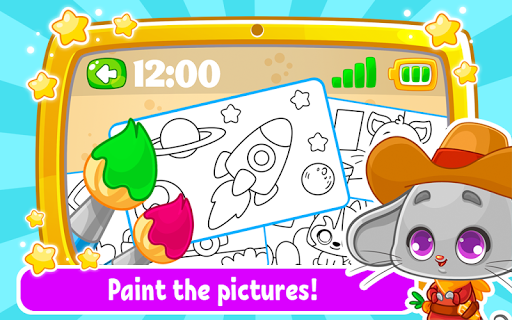Babyphone & tablet - baby learning games, drawing 2.0.13 screenshots 2