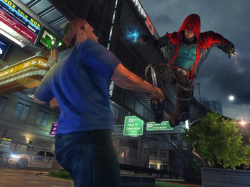 Incredible SuperHero Games : Crime City Gangster screenshots 8