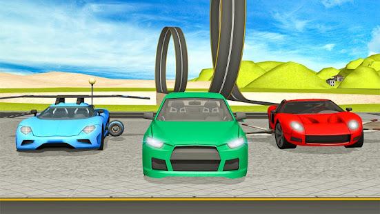 flying car- vehicle driving 3d hack