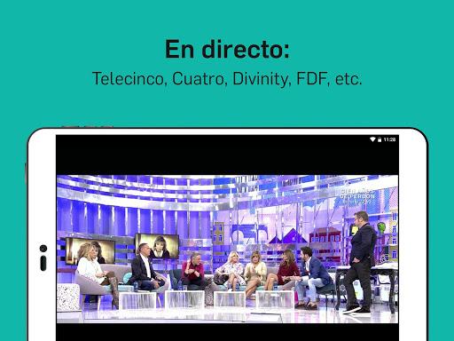 Mitele - Mediaset Spain VOD TV apktram screenshots 10
