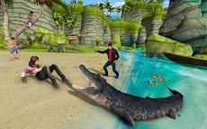 Hungry Crocodile Attack 2019: Crocodile Gamesのおすすめ画像1