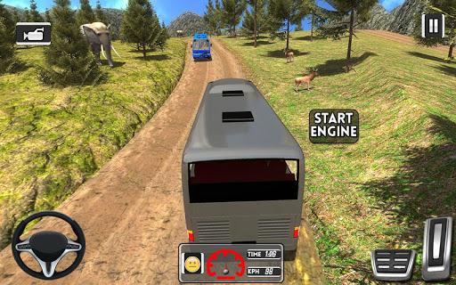 Coach Bus Simulator Games 2021  screenshots 1