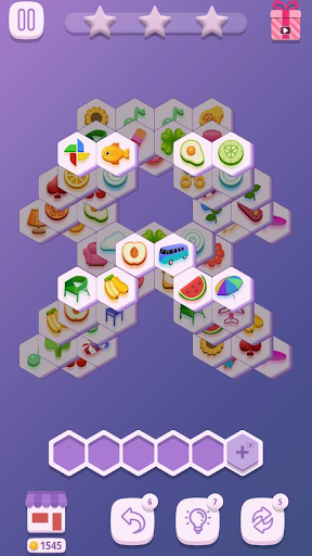 Tile Match Hexa 1.0.2 screenshots 9