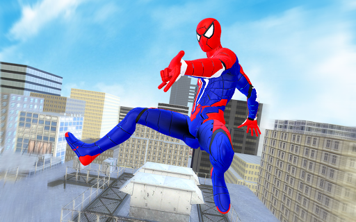 Spider Hero Fight Gangster Rope Battle Crime City modavailable screenshots 3